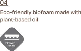 4. 04.	Eco-friendly biofoam made with plant-based oil