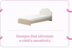 Designs that stimulate a child's sensitivity