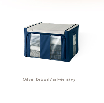 Silver brown / silver navy 66L - 19,900won