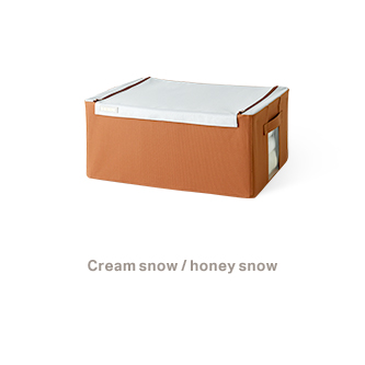Cream snow / honey snow 47L - 13,900won 57L - 14,900won